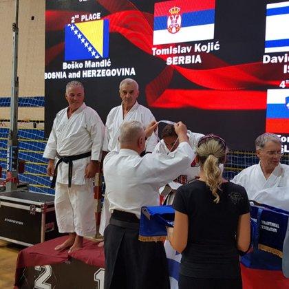 סנסאי דודי הלפרין - מדלית ארד באליפות אירופה 2018