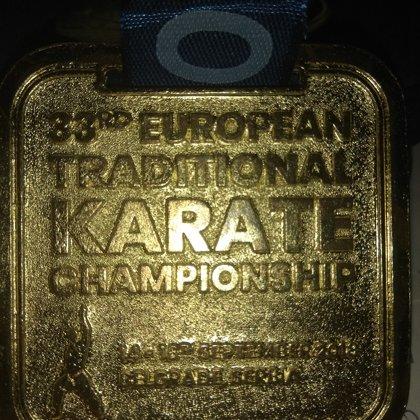 אליפות אירופה 2018 מדלית זהב בקומיטה מבוגרים לסנסאי אייל ניר